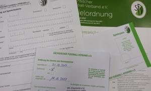 Hinweis der Passstelle des SFV: Änderungen bei der Beantragung von Spielberechtigungen
