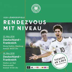 Rendzevous mit Niveau – U 18 Deutschland – Frankreich in Eilenburg