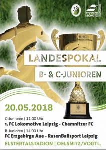 SV Merkur lädt zu Endspielen um den Sächsischen Pokal der C- und B-Junioren herzlich ein!