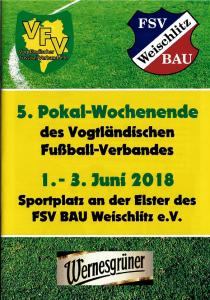 Programmheft zum Pokalwochenende erhältlich – 1 Euro für den Nachwuchs des FSV Bau Weischlitz