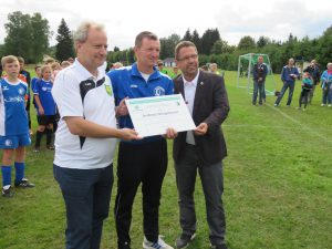 Andreas Neugebauer vom SV Turbine Bergen in Club der Hundert aufgenommen!