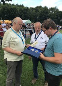 Wilhelm Wutzler zum Pokalwochenende ausgezeichnet