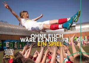 DFB startet Offensive für den Mädchenfußball – #NichtOhneMeineMädels