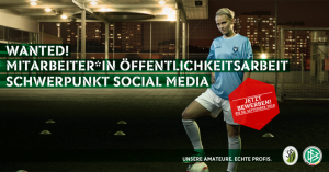 Stellenausschreibung Sächsischer Fußball-Verband e.V.