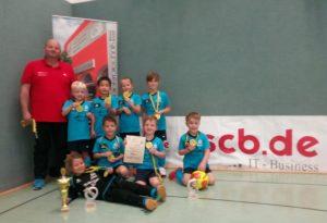 Erster Titel in der Halle geht nach Jößnitz – Herzlichen Glückwunsch an die G-Junioren der SG Jößnitz!