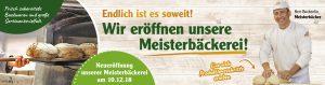 Unser Partner, Globus Weischlitz eröffnet Meisterbäckerei!