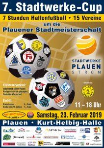 Termin schon vormerken – 23.02.2019 – 7. Stadtwerke Cup