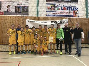 Hallenpokalsieger beim Autohaus Voitel Cup wurde der VfB Auerbach!