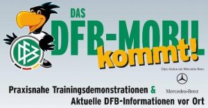 DFB-Mobil zu Gast in Bergen