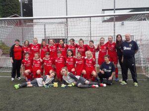 Kreisauswahl Girls vom Cordial Cup mit tollen Erlebnissen zurück
