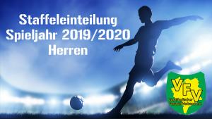 Staffeleinteilungen im Herrenbereich Spieljahr 2019/2020