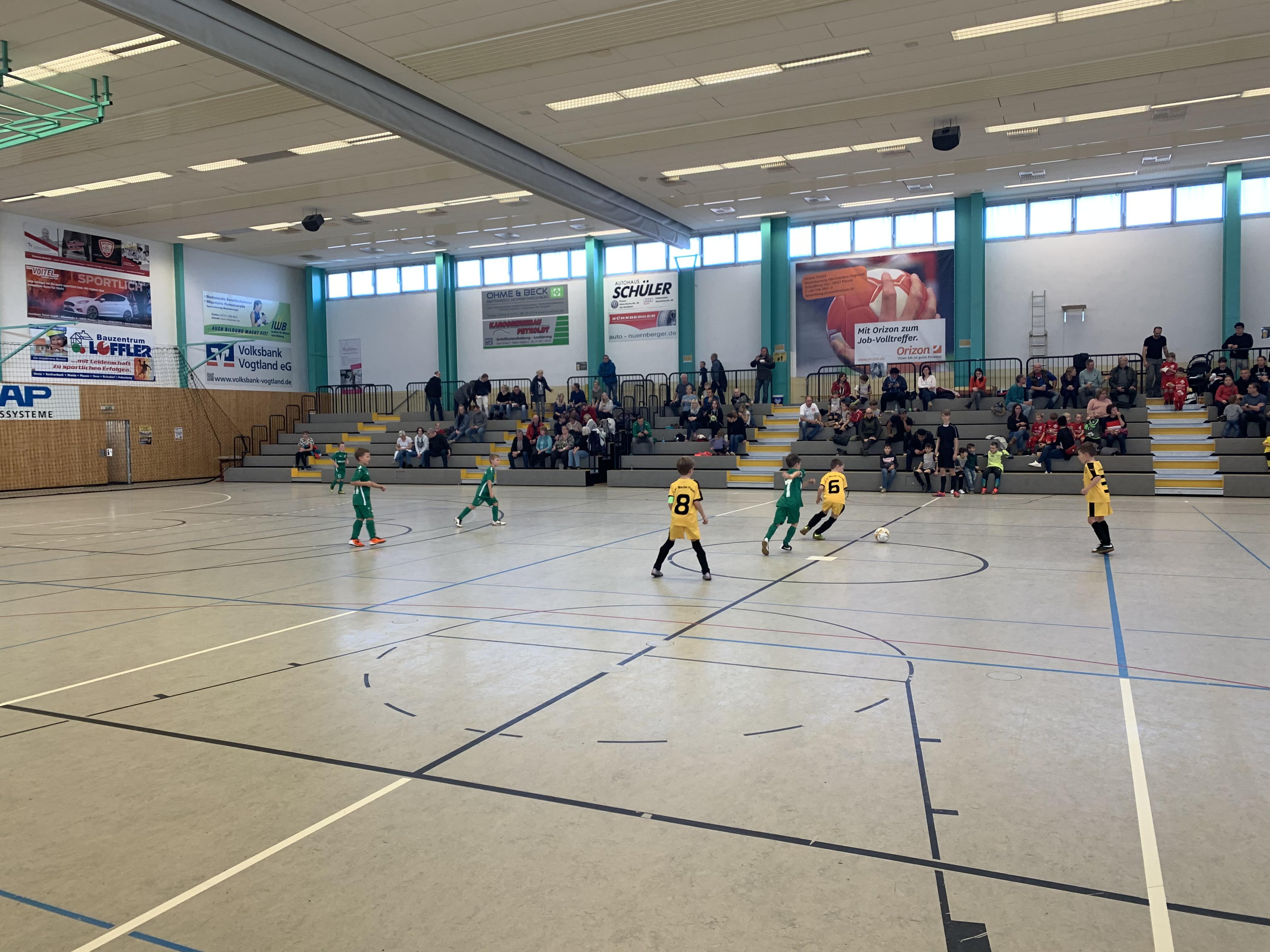 F-Junioren starten mit vier Vorrunden