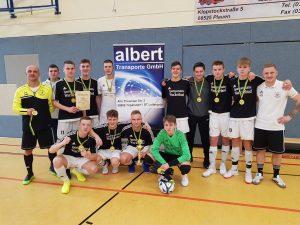 1. FC Wacker Plauen gewinnt Albert Transporte Cup bei den B-Junioren