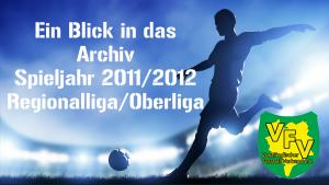 Blick ins Archiv: Regionalliga VFC Plauen gegen RB Leipzig im Spieljahr 2011/2012