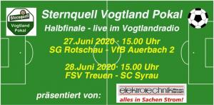 Sternquell Vogtlandpokal: Wettbewerb kann sportlich beendet werden, jedoch ohne Zuschauer