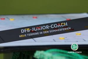 DFB-JUNIOR-COACH in den Sommerferien