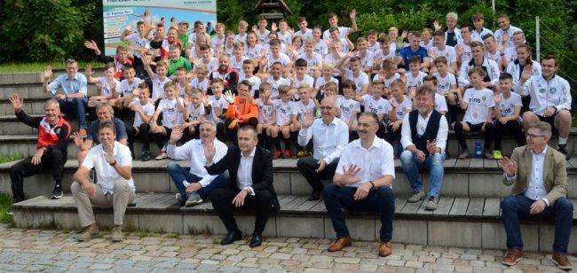Fußballferienschule: 64 Talente legen im Camp los