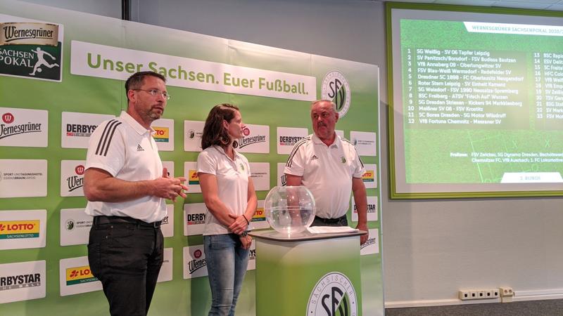 SFV: Zweite Runde des Sachsenpokals ausgelost