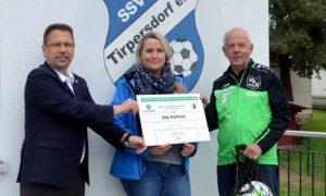 Ehrung für Tirpersdorfer Vereinschefin nachgeholt