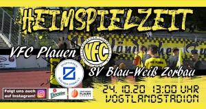 Oberliga: VFC will mit 100 Fans zurück in Erfolgsspur