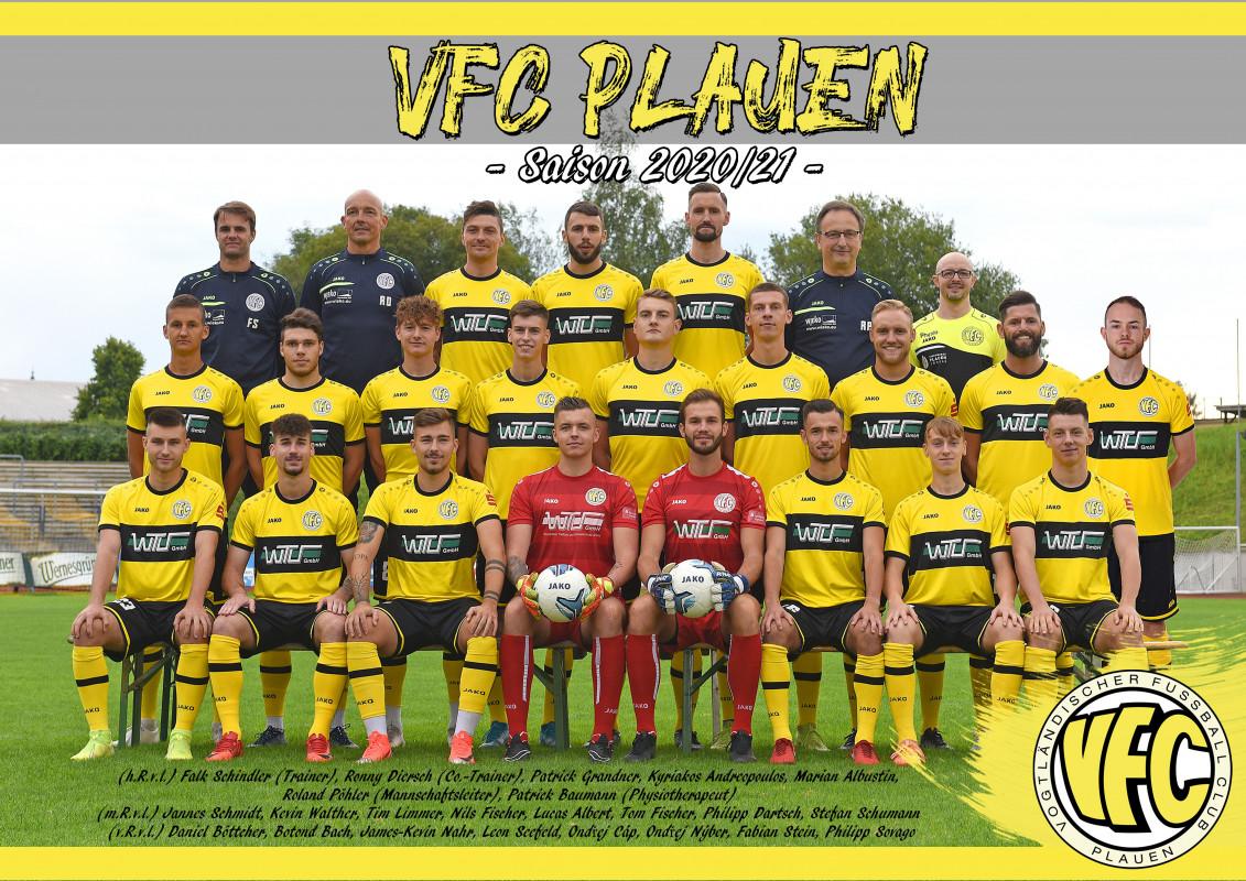 Sachsenpokal: VFC Plauen muss zu einem Landesligist