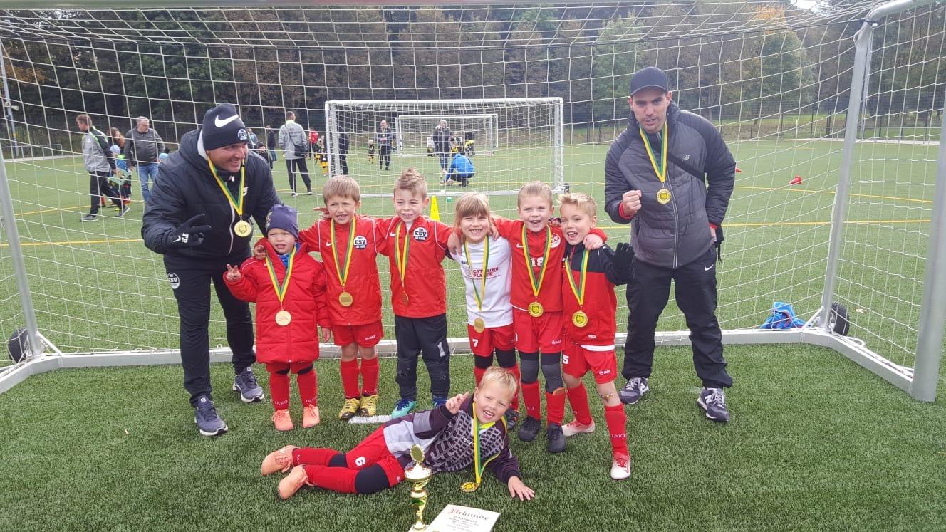 ESV Lok Plauen gewinnt KJF GmbH Cup der G-Junioren