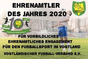 """Ermittlung """"Ehrenamtler des Jahres 2020"""" online durch User"""