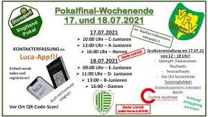 Read more about the article Informationen zum Pokalwochenende am 17.07./18.07.2021 in Falkenstein