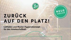 Read more about the article Zurück auf den Platz, Unterstützung bei der Erstellung von Hygienekonzepten, Fancard zur Zuschauerregistrierung