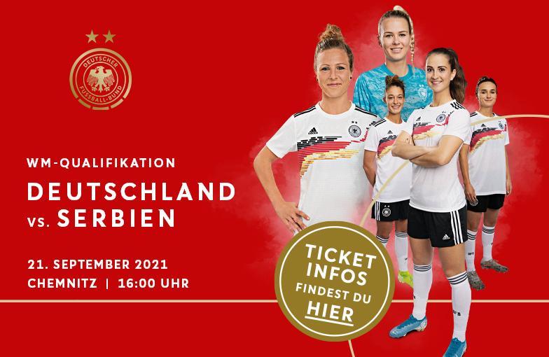 Read more about the article Länderspiel Frauen Deutschland gegen Serbien in Chemnitz